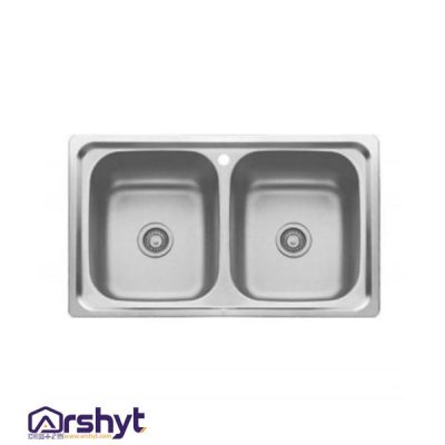 سینک ظرفشویی بیمکث BS-519 توکار